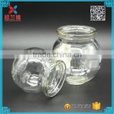 wholesale ball shape glass candle jar round glass candle                                                                         Quality Choice