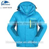 2015 Customized fashion outdoor Sports Kids Ski Jacket windproof breathable winter overalls