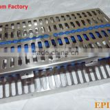 "Sterilization Cassette 11"" x 7.5"", Rack for 20 Pcs, Dental Surgical Instruments"