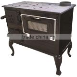 Wood burning stove LS200 CIF, enameled cooking stove, high quality products, European products