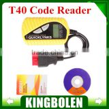 OBD2 Scanner/Auto Basic Code Reader T40 Multilingual 100% original Fast Shipping