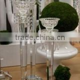 elegant k9 crystal wedding flower stand centerpieces                                                                         Quality Choice