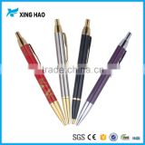 Wholesale big ballpoint pen logo printed heavy metal ball pen with high quality for promotion gift