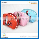 NEW Arrival PVC cosmetic bag women Cartoon make up bag Promotional two pockets cosmetic bag