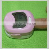 hot selling Kid's Pulse Oximeter stable quality with pink ,yellow and blue color oximeter baby pulse oximeter