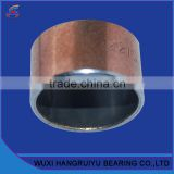 copper back sintered porous bronze SF-1 bushing bearings sleeves 20 * 23 * 25 mm with lubrication oil holes