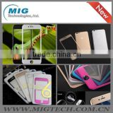 For iphone 6 or for iphone 6 plus Titanium Alloy Tempered Glass Screen Protector Film Cover