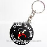 Fashion custom logo cartoon character soft pvc keychains no minimum,eco-friendly 3D cartoon keychain