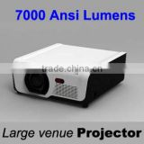 7000 Lumens, Laser Light Source and Multimedia Large Venue Projector manufacture for outdoor bidding and 1920x1080pixels