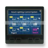 3.5-7 Inch Wired Real Color LCD Touch Screen Module for intelligent lighting dimmer control system-YT-TP35B
