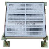 Data center anti-static perforated raised access panel