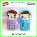 BNC900090 two colors Cartoon Story Machine Can Touch plastic toys