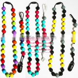 Teething Jewellery/2014 Gorgeous China Wholesale Mom Nursing Necklace BPA Free Baby Chew Bead Teething Jewellery