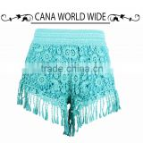 The new summer 2015 han edition cultivate one's morality show thin comb lace melting flow joker shorts hot pants