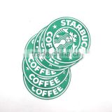 2016 fashion hot sell eco friendly polyester felt disposable kids design beer coffee drink coaster