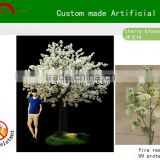 White/pink Artificial cherry blossom trees/fake cherry blossom tree/silk cherry blossom tree