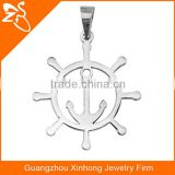 Anchor Shaped 316L Stainless Steel Pendant Necklace Cool Man Jewelry Pendant Necklace