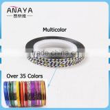 ANY DIY Multi-Colors Rolls Line Nail striping Tape Nail Art Decoration Sticker
