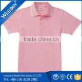 240 grams wholesale spandex/polyester top quality cheap cotton US polo shirts bulk for men