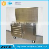Medical cabinet on wheels cabinet
