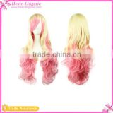 Wholesale Wavy Multi-Color Lolita Cosplay Wig Brazilian Hairs