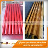 Schwing DN 125 wear resisting twin wall concrete pump spare parts / accessories delivery pipe / straight pipe / tube