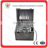 SY-M047 Hot sale Portable Dental Unit Delivery Rolling Case Powerful built-inoilless Compressor