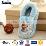 Wholesale brand name cartoon indoor baby casual shoes