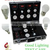 Goodlighting portable led light display case LED Demo Case for Sample Light Display/Testing