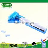 Battery operated portable dental polisher and tooth polisher with silicone cups