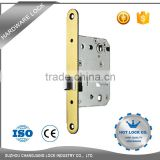 Double swinging tempered glass door lock for smart lock door outdoor