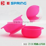 Spill Proof Stay Put Suction Bowl Feeding Silicone Bowl Baby Bowl