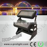 Double head led city light 192pcs 3W high brightness led wall washer light Architecture decoration light