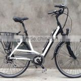frame battery ebike with 250W brushless motor and max 36V13.6ah lithium battery in frame samsung cells