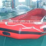 Commercial-quality 0.9mm PVC tarpaulin inflatable raft boats, inflatable boats river raft