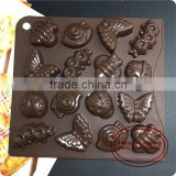 CTBED123 Insect Moulds Chocolate Mold Different Shaped Silicone Mold For Cake And Chocolate Making