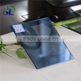 4mm 5mm 6mm dark blue reflective glass facade reflective glass for windows reflective glass door