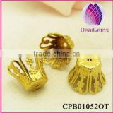 China Wholesale Basket Brass Bead Caps DIY Jewelry Findings