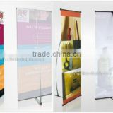 PVC Advertising Banner L flex Banner Stand for Fair/Shop/Restaurant