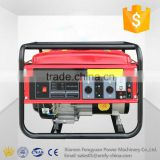 Factory direct sale single phase hand starting 3kw cold welding air cooled low fuel consumption gasoline generator