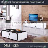 Good quality high gloss black glass tv stand, wide tv stand
