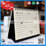 cmyk printing professional custom table calendar/desk calendar/Tri-fold wall calendars printing