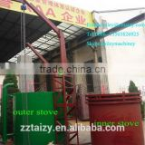 2015 hot Environmental friendly continuous saw dust charcoal carbonization furnace