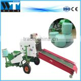 Farm use corn silage baling and wrapping hay baling machine with factory price
