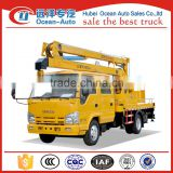 Japonic brand !! 16m high working truck , truck mounted aerial work platform