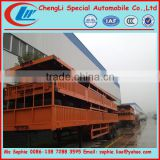 Chengli factory supply cheap semi trailers,tri-axle semi trailer,tri-axle flatbed trailer