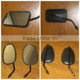 Good Quality Motorcycle Parts Black Plastic Side Rearview Mirror