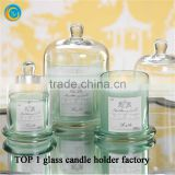 Spray Colored Scented Bell Jars with Domes Cover