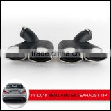 automobile exhaust tip for amg e63 in exhaust system