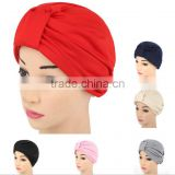 Women 's Muslims with two sets of Indian cap Europe and the United States fashion head towel head head hat